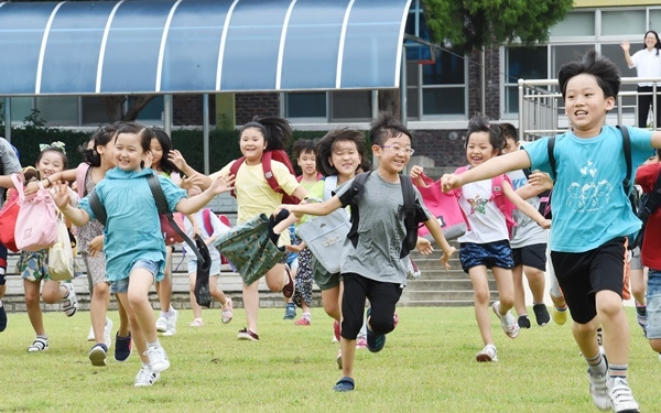 초등학교 여름방학 시작