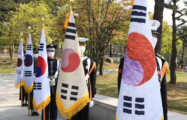 임정 수립 102주년 … 독립운동 태극기 공개